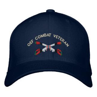 OEF Combat Veteran Cavalry Crossed Sabers Hat