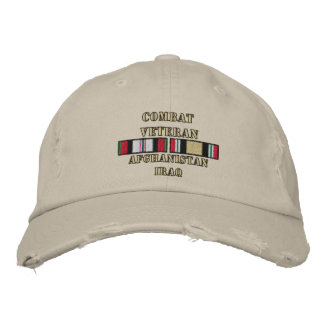 OEF & OIF Vet Embroidered Hat