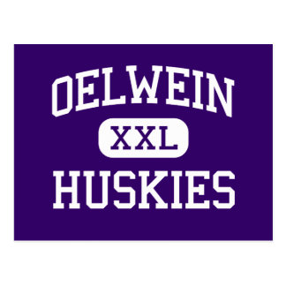 Oelwein - Huskies - Senior - Oelwein Iowa Postcard