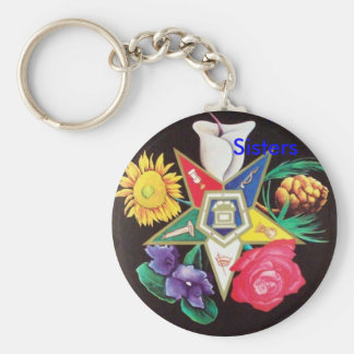 OES Blooming Star Key Ring