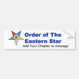 OES Bumper Sticker