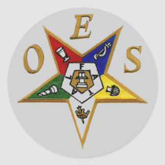 OES Edition Classic Round Sticker