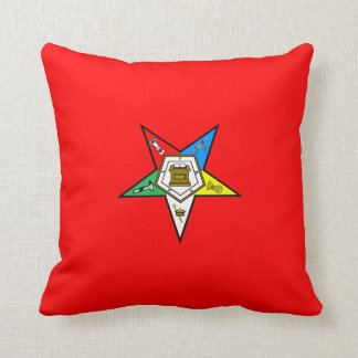 OES Order of the Easter Star Pillow
