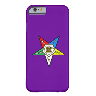 OES Order of the Eastern Star iPhone 6 case Purple Barely There iPhone 6 Case