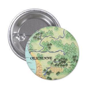 Oescienne Map 3 Cm Round Badge