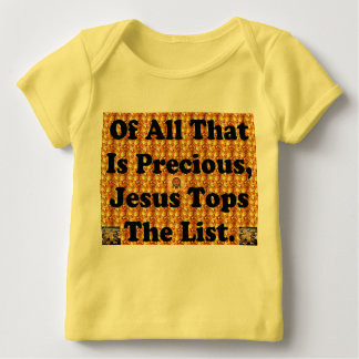 Of All That Is Precious, Jesus Tops The List.