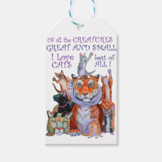 Of All the Creatures Great and Small Gift Tags