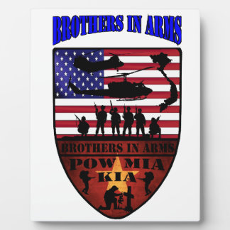 of Brother is arm Plaque