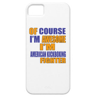 Of Course I Am American Kickboxing Fighter Barely There iPhone 5 Case