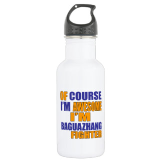 Of Course I Am Baguazhang Fighter 532 Ml Water Bottle