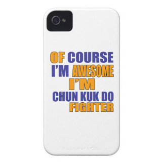 Of Course I Am Chun Kuk Do Fighter Case-Mate iPhone 4 Cases