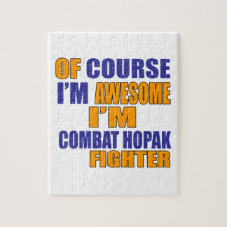 Of Course I Am Combat Hopak Fighter Jigsaw Puzzle