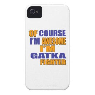 Of Course I Am Gatka Fighter iPhone 4 Case-Mate Case