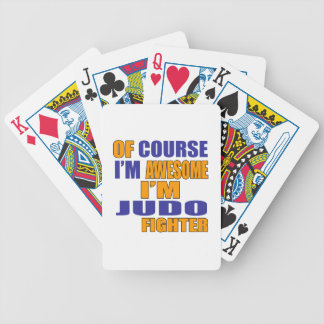 Of Course I Am Judo Fighter Bicycle Playing Cards