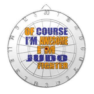 Of Course I Am Judo Fighter Dartboard