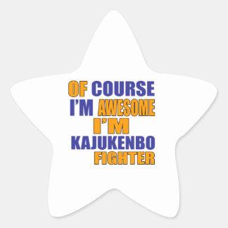 Of Course I Am Kajukenbo Fighter Star Sticker