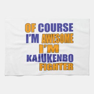 Of Course I Am Kajukenbo Fighter Tea Towel