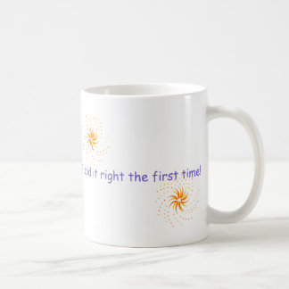 Of course I don't look busy... Basic White Mug
