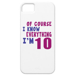 Of Course I Know Everything I Am 10 Case For The iPhone 5
