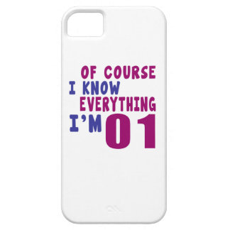 Of Course I Know Everything I Am 1 Barely There iPhone 5 Case