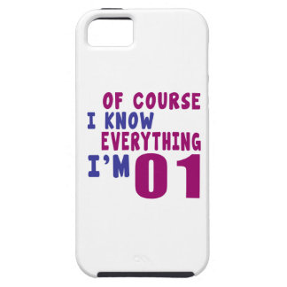 Of Course I Know Everything I Am 1 iPhone 5 Covers
