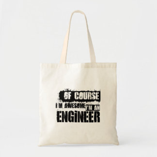 Of Course I'm Awesome I'm an Engineer Tote Bag