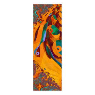 Of Dragon and Birds Bookmark Business Card