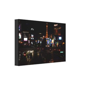 Of Las Vegas boulevard Canvas Print