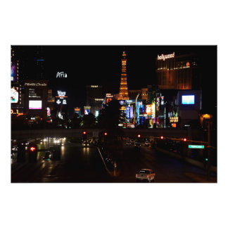 Of Las Vegas boulevard Photo Art