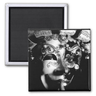 Of Magic and Masks Fine Art Magnet