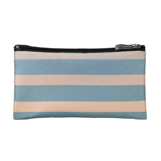 Of make-up small size gray-turquoise trusses cosmetic bag
