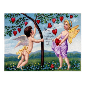 Of My Love The Angels In Heaven Might Tell Postcard