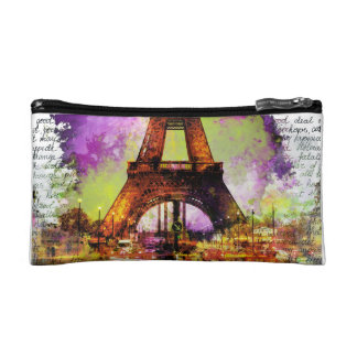 Of Paris Eiffel Tower, Eiffel Tower, Sketchbook Makeup Bag