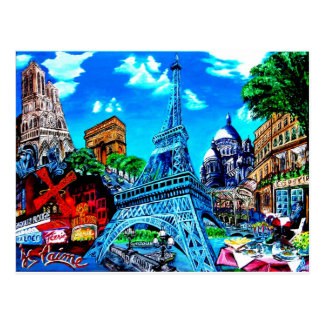 Of Paris postcard