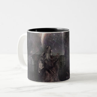 Of Wolf and Man Two-Tone Coffee Mug