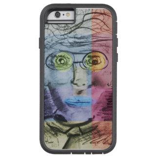 off beat art deco expressionism dude tough xtreme iPhone 6 case