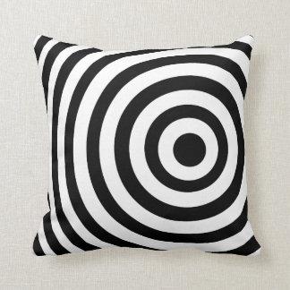 Black Target Cushions - Black Target Scatter Cushions Zazzle.com.au
