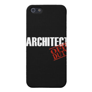 Off Duty Architect iPhone 5/5S Cover