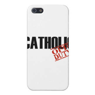 OFF DUTY Catholic Cover For iPhone 5/5S