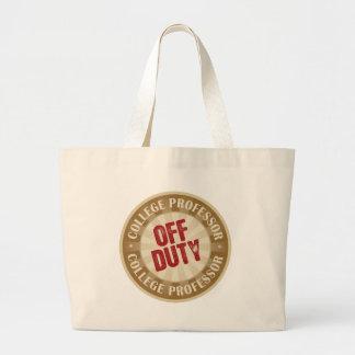Off Duty College Professor Jumbo Tote Bag