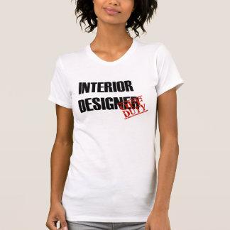 OFF DUTY INTERIOR DESIGNER T-SHIRT