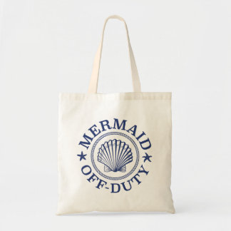 Off Duty Mermaid Tote Bag