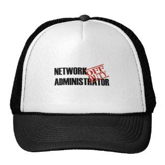 OFF DUTY NETWORK ADMIN LIGHT CAP