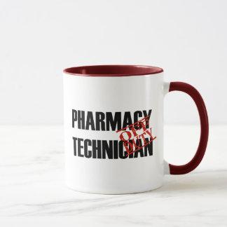 OFF DUTY Pharmacy Technician Mug