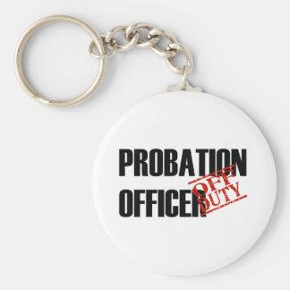 OFF DUTY PROBATION OFFICR LIGHT KEY RING