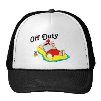 Off Duty Santa (Sunbathing) Hat