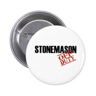 OFF DUTY STONEMASON LIGHT PIN