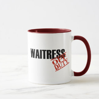 Off Duty Waitress Mug