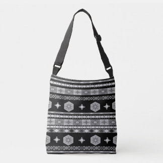 Off-Grid (black & white)) Crossbody Bag