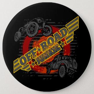 Off Road Junkie 4x4 6 Cm Round Badge